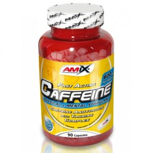 Amix® – Caffeine 200mg with Taurine 90cps