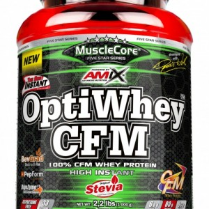 MuscleCore® DW  OPTI-Whey® CFM® 2,25kg Strawberry-Yogurt