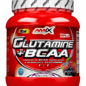 Glutamine + BCAA 500g natural