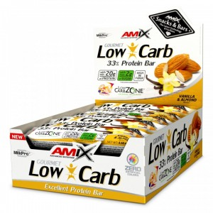 Amix ™ Low-Carb 33% Protein Bar 15x60g