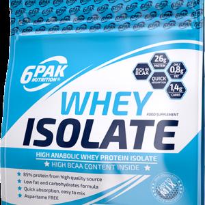 6PAK Whey Isolate 2kg bela čokolada